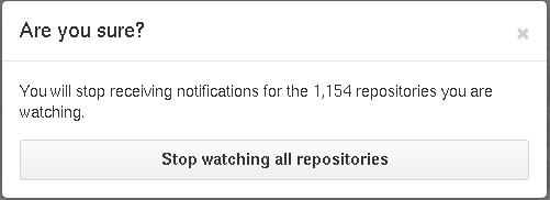 Culling the GitHub notification spam — edunham